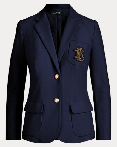 Crest Cotton Piqué Blazer