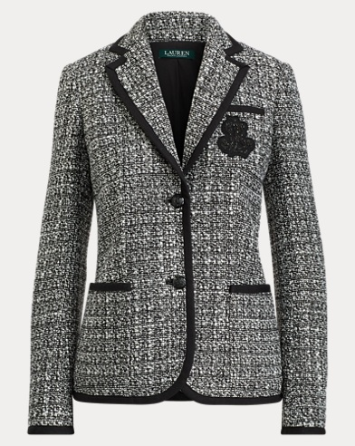 Bullion Crest Tweed Jacket