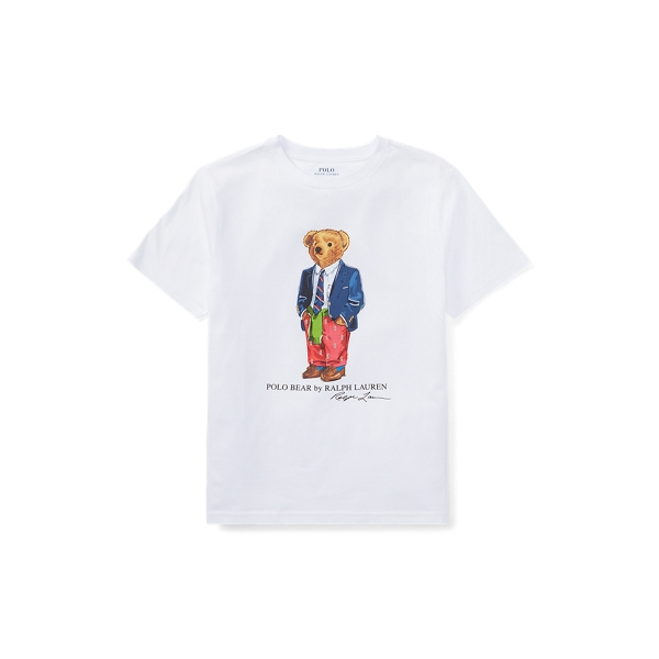 Preppy Bear Cotton T Shirt by Ralph Lauren
