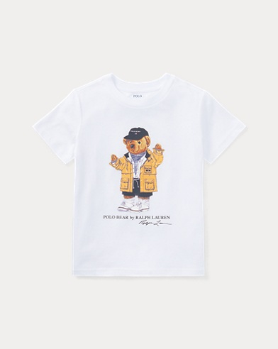 Little Kid Raincoat Bear Shirt