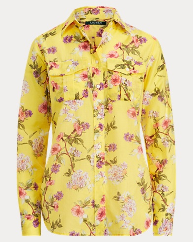 Floral Button-Down Shirt