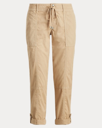 Drawstring Chino Cargo Pant