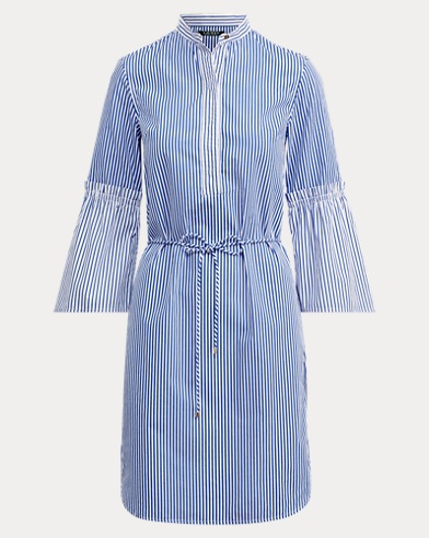 Bengal-Stripe Shirtdress