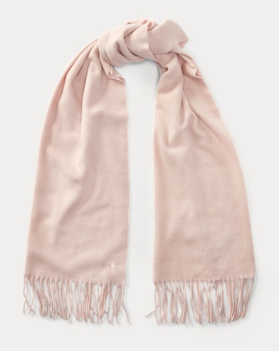 Cashmere-Wool Muffler Scarf