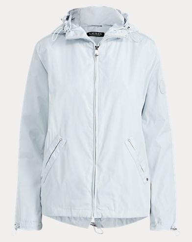Water-Resistant Anorak Jacket