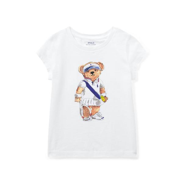 Tennis Bear Cotton T-Shirt
