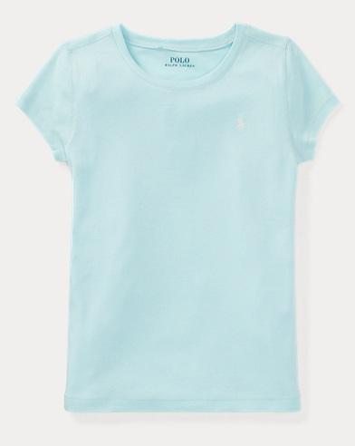 Cotton-Blend Crewneck T-Shirt
