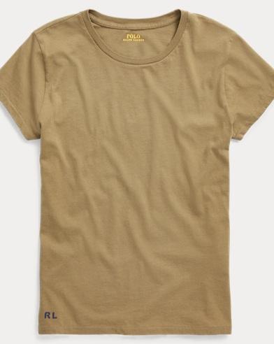 RL Cotton Crewneck T-Shirt