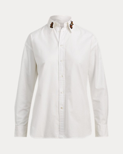 Bullion Oxford Boyfriend Shirt