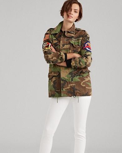 Camo Military Combat Jacket