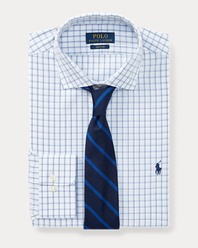 Classic Fit Windowpane Shirt