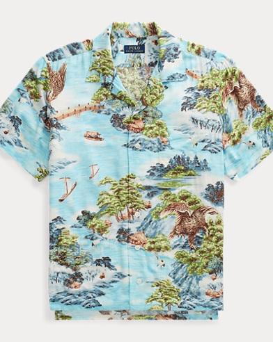 Classic Fit Print Shirt
