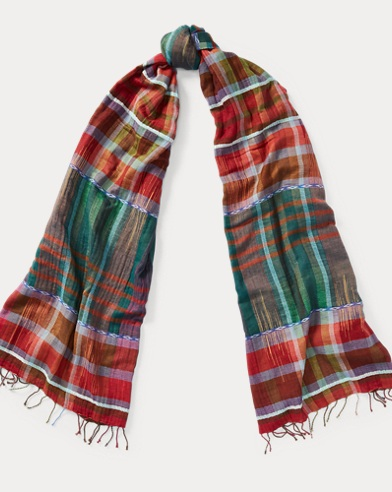 Madras Cotton Scarf