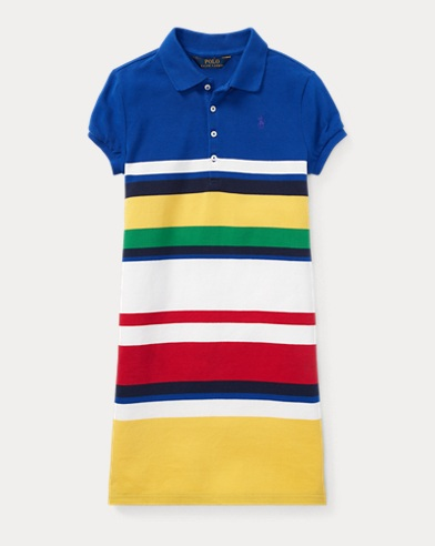 CP-93 Cotton Mesh Polo Dress