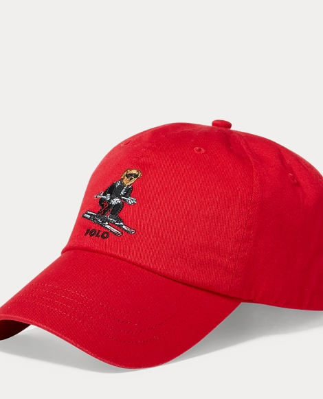 Ski Polo Bear Chino Cap