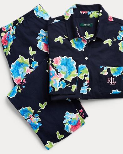 Floral Cotton Pajama Set