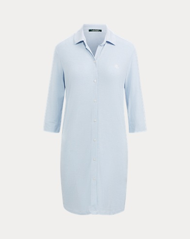 Striped Modal Sleep Shirt