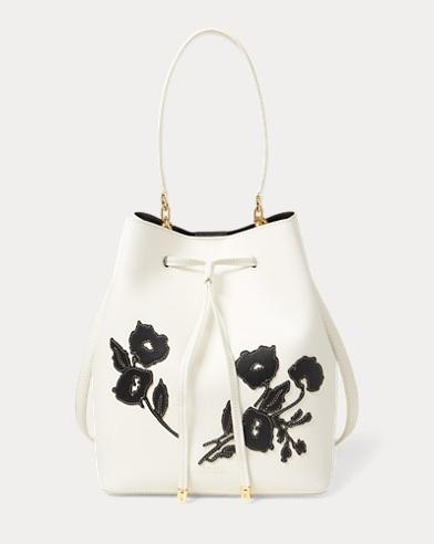 Floral Debby Drawstring Bag