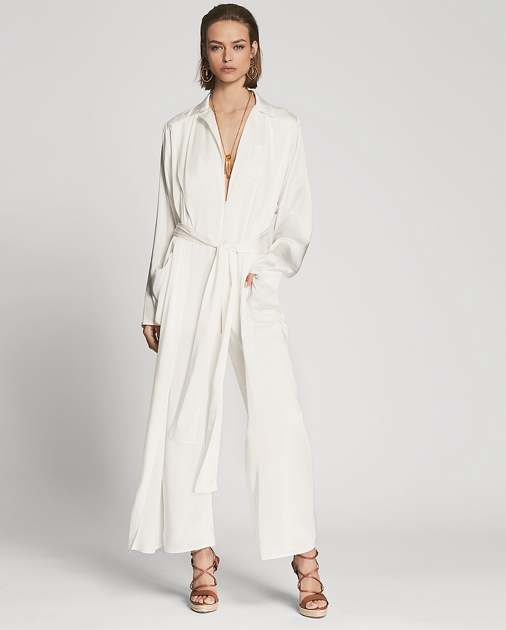 O'reilly Charmeuse Jumpsuit by Ralph Lauren
