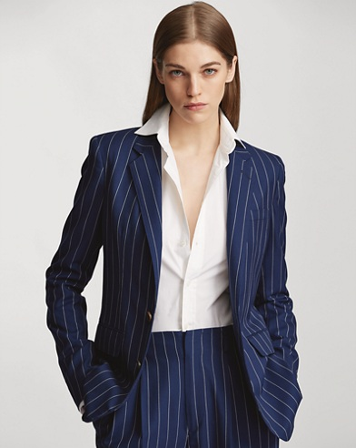 Roberts Striped Wool Jacket