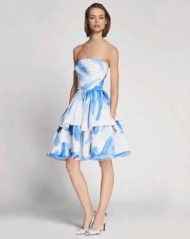 Fancisco Painted Cotton Dress