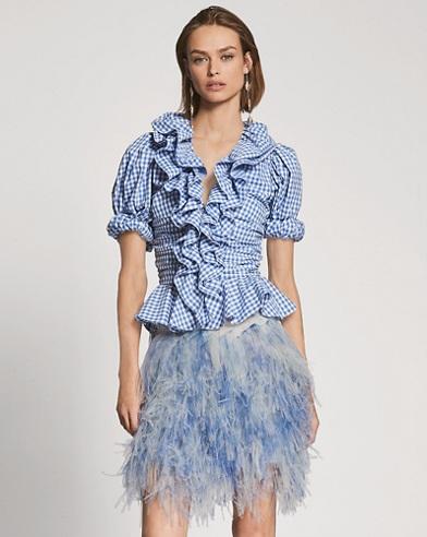 Fern Tulle Miniskirt