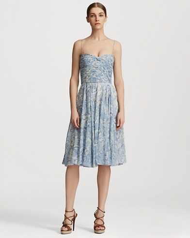 Nichola Floral Georgette Dress