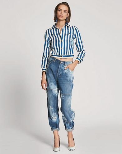 Eden Cropped Carpenter Jean