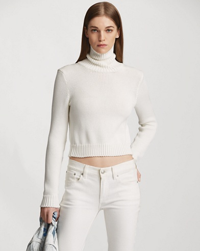 Cotton Turtleneck Sweater