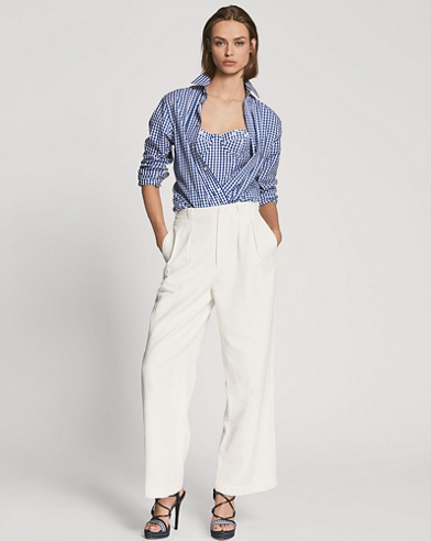 Caldwell Twill Wide-Leg Pant