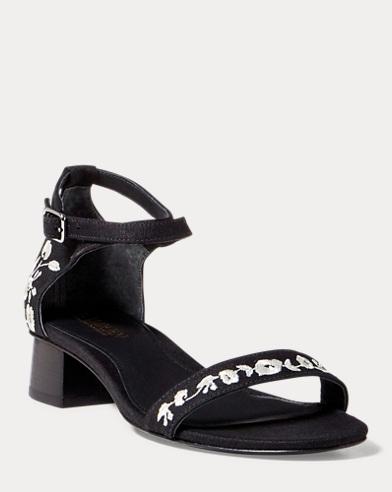 Betha II Linen Sandal