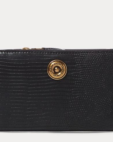 Faux-Lizard Compact Wallet