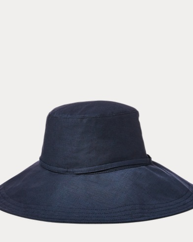 Packable Linen Hat