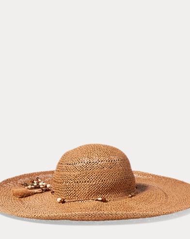 Boho Beaded Sun Hat