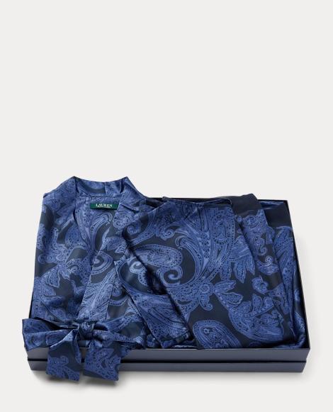 Satin Robe & Chemise Gift Set