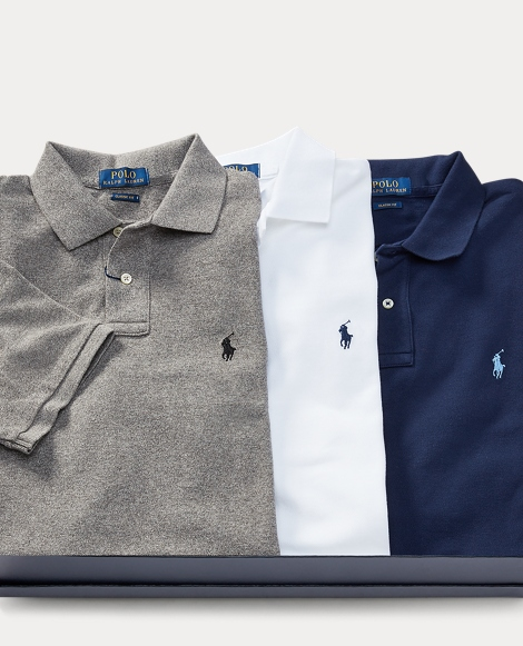 Classic Fit Polo 3-Piece Set
