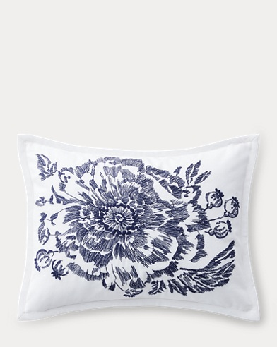 Isadora Floral Throw Pillow