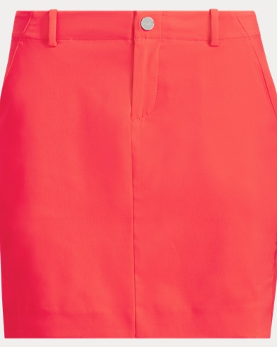 Stretch Satin Golf Skort