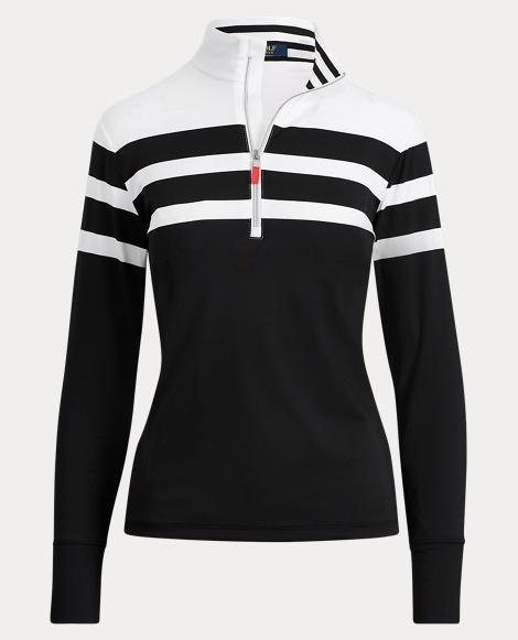 Stripe Stretch Jersey Pullover