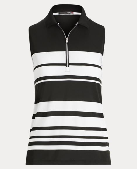 Striped Jersey Sleeveless Top