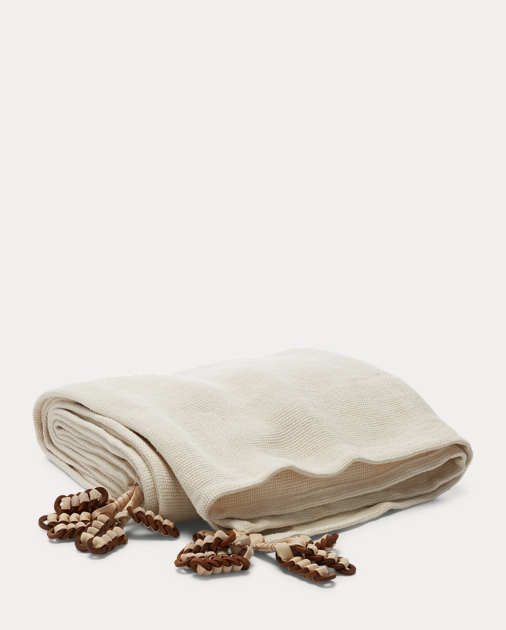 Lowden Linen Throw Blanket