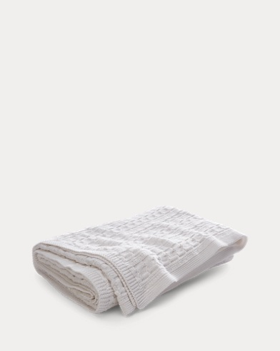 Davies Cable Throw Blanket