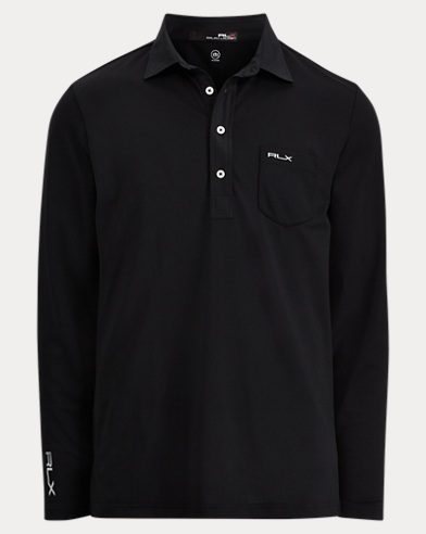 Custom Fit Long-Sleeve Polo
