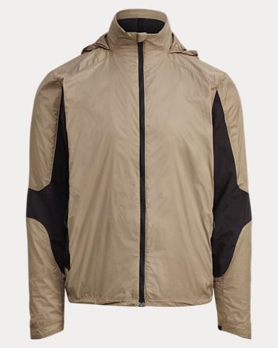 Paneled Hooded Jacket