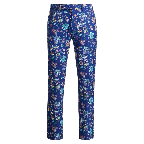 Ralph Lauren Classic Fit Stretch Pant Mill Reef Floral 38