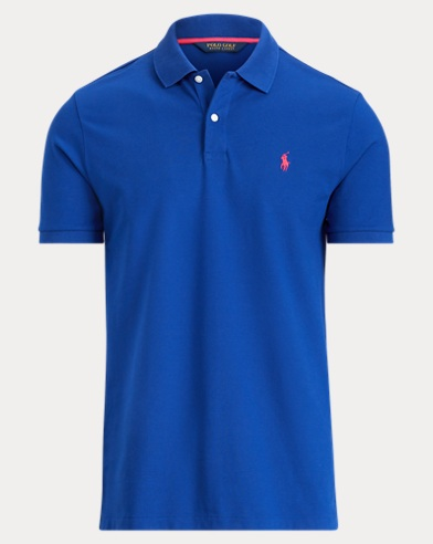 Custom Slim Stretch Mesh Polo