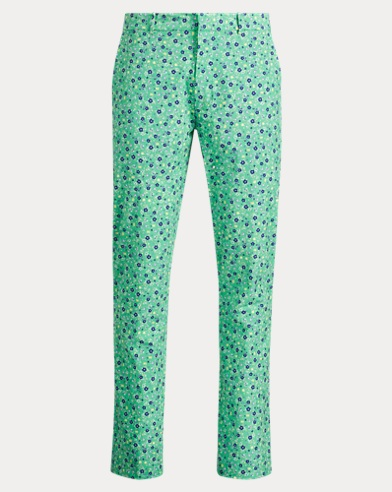 Classic Fit Print Stretch Pant