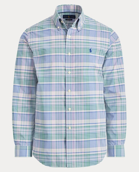 Plaid Performance Twill Shirt