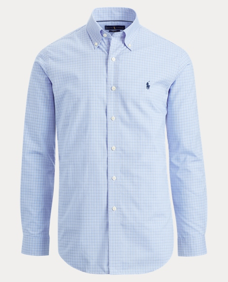 Easy Care Plaid Cotton Shirt