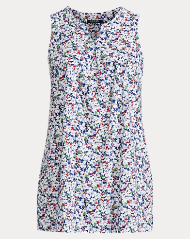 Floral Cotton Nightgown